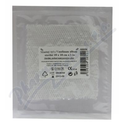 Zobrazit detail - Krytí sterilní-mastný tyl 10x10cm-1ks Steriwund