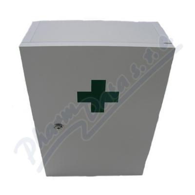 Zobrazit detail - Lékárnička nást. dřev. bílá do 15 osob Steriwund