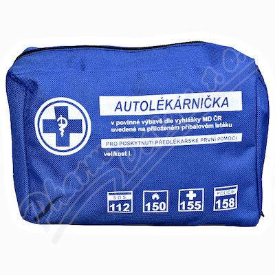 Zobrazit detail - Autolékárnička textil vyhl. č. 341-2014 Steriwund