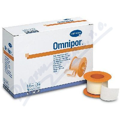 Náplast Omnipor netkaný textil 2.5cmx9.2m-1ks