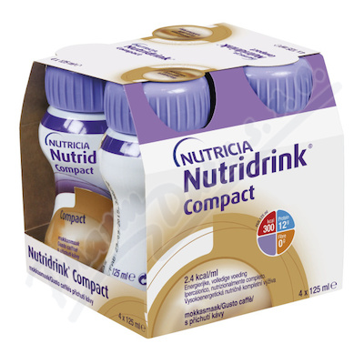 Nutridrink Compact s p��ch.K�vy por.sol.4x125ml