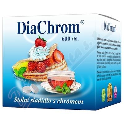 Zobrazit detail - DiaChrom tbl. 600 nízkokalorické sladidlo