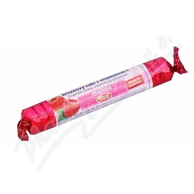 Zobrazit detail - Intact rolička hroznový cukr s vit. C - malina 40g