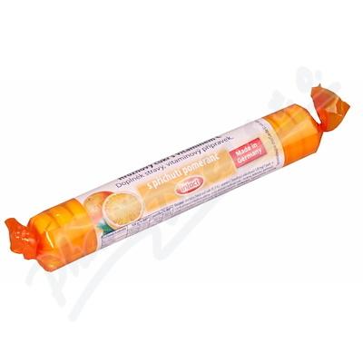 Zobrazit detail - Intact hroznový cukr s vit. C pomeranč 40g (rolička