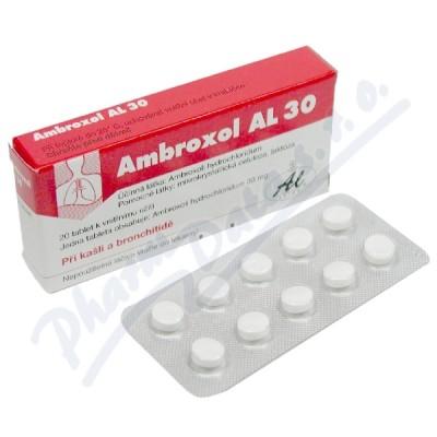 Zobrazit detail - Ambroxol AL 30 tbl. 20x30mg
