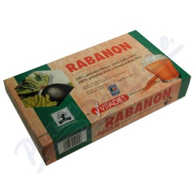 Zobrazit detail - Rabanon Vitadiet 20x10ml extrakt z černé ředkve
