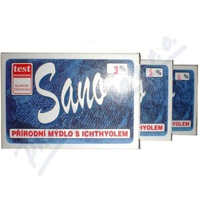 Zobrazit detail - MERCO Sano mýdlo s ichtyolem 100g 8%