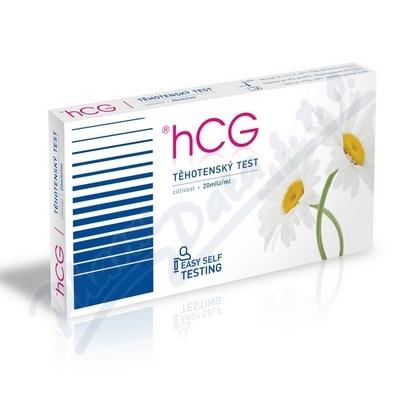 Zobrazit detail - T�hotensk� test hCG test 1ks