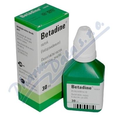 Zobrazit detail - Betadine drm. sol. 1x30ml (H) zelený