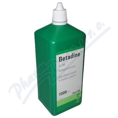 Zobrazit detail - Betadine liq. 1x1000ml (H) zelený