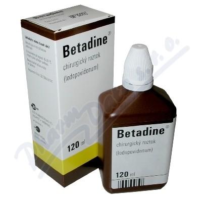 Zobrazit detail - Betadine (chirurg. )liq. 1x120ml (H)