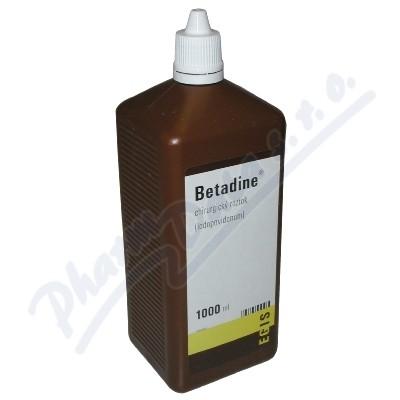 Zobrazit detail - Betadine (chirurg. )liq. 1x1000ml (H)