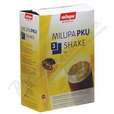 Milupa PKU 3 Shake Kakao por.plv.sol.10x50g