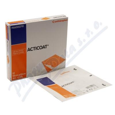 Zobrazit detail - Acticoat krytí antimikrobiot. s nanokry 10x10cm 5ks