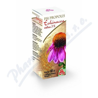 Zobrazit detail - PM Propolis Echinacea extra 3% kapky 50ml
