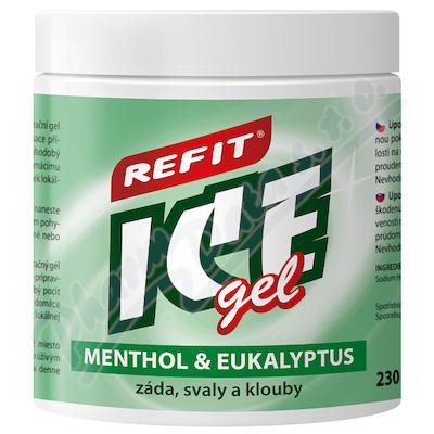 Zobrazit detail - Refit Ice masážní gel s eukalyp. +menthol. 230ml