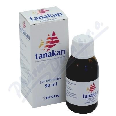 Zobrazit detail - Tanakan sol. 1x90ml+dávkovač