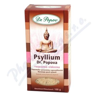 Zobrazit detail - Psyllium indická rozpustná vláknina 100g Dr. Popov