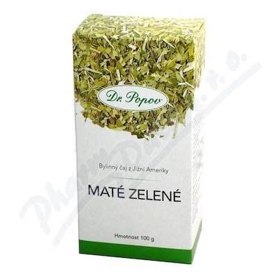 Zobrazit detail - Dr. Popov Čaj Zelené maté 100g