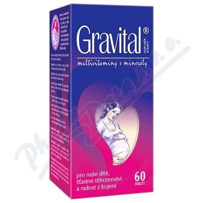 VitaHarmony Gravital tbl.60 pro těhot.a koj.ženy
