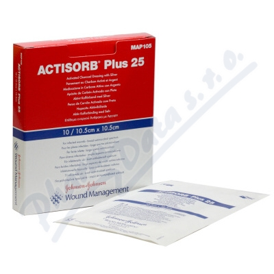 Actisorb Plus 10.5x10.5cm 10ks