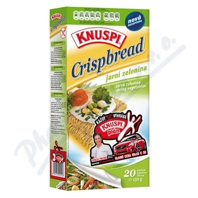 Zobrazit detail - Knuspi Crispbread jarní zelenina 150g