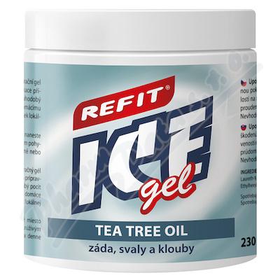 Zobrazit detail - Refit Ice masážní gel s tea tree oil 230ml