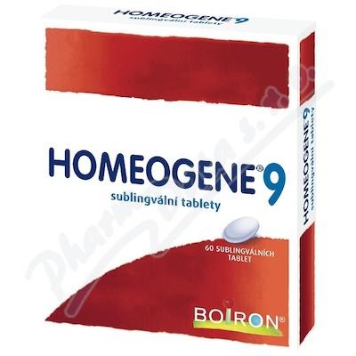 Zobrazit detail - Homeogene 9 tbl. 60