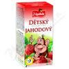 Apotheke Dětský ovocný čaj jahodový 20x2g
