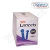 Jehly/lancety pro SD-odběr.pera kapilár.krve 100ks