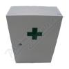 Lékárnička dřevěná bílá 43x30x14cm prázd.Steriwund