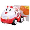 BRIGHTSTARTS Hračka OBALL autíčko sanitka 18m+