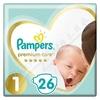 Pampers Premium Care Pack S1 26ks Newborn