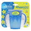 DR.BROWNS Hrnek Cheers360 6m+ 200ml modrý