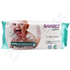 Bambo Nature biodegradabilní dětské ubrousky 50 ks